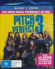 Pitch Perfect 3 Blu-ray + digital NEW Australian Release Rebel Wilson