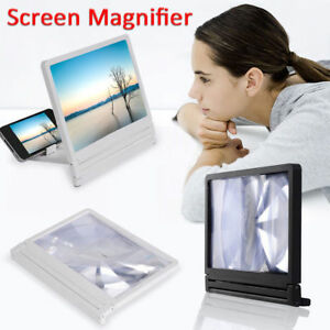 HotSell 3D Phone Screen Magnifier Enlarged Screen Amplifier Bracket Holder WH&BK