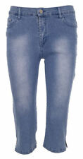 Unbranded Cotton Blend Mid Rise Plus Size Trousers for Women