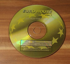 CD Euro House Vol.1 1995 Dance Factory