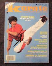 1983 May KARATE ILLUSTRATED Magazine FN 6.0 Martial Arts Kung-Fu Stuart Quan
