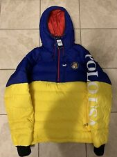 New Polo Ralph Lauren Small Down Pullover Jacket CP93 RRL Puffer Cookie Crest