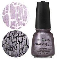 China Glaze Crackle Nail Polish Latticed Lilac  14ml