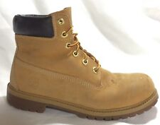 """Timberland 12909 Junior 6"""" Premium Waterproof Work Boots 5.5 Youth Wheat Yellow"""