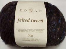 ROWAN Felted Tweed  Lt Worsted Yarn Nubby Tweedy SW Merino Alpaca Rayon 191y 50g