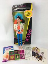 Barbie And The Rockers Dana Doll Vintage Mattel 1985 Complete. #1196 With Decal