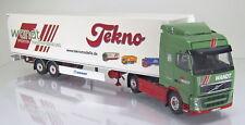 Herpa Tekno 80463510 Volvo FH03 GL Koffer Sattelzug LKW Wandt Scale 1 50 NEU OVP