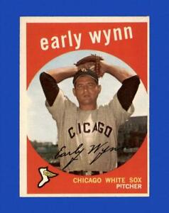 1959 Topps Set Break #260 Early Wynn EX-EXMINT *GMCARDS*