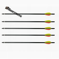 "5pcs 17"" Heavy Duty Crossbow Bolts Alloy Aluminium Archery Xbow Arrows for 100lb"