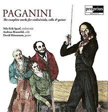 Niccolo Paganini: The Complete Works for Violin / Viola Cello & Guitar [New CD]