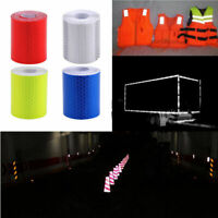 Car Reflective Safety Warning DIY Tape Film Sticker Decal Roll Self Adhesive