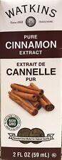 Watkins Pure Cinnamon Extract 2 oz 59 ml USA Fresh Non Gmo Gluten Free