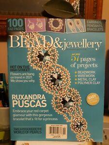 Bead & Jewellery Magazine # 106 **NEW** Pearls, bracelets, beadwork, flowers.