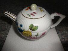 Vintage Franklin Mint Victoria & Albert Furstenberg Porcelain Tea Pot B11Ja77New