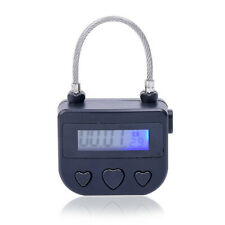 Digital Timer Switch USB Rechargeable Time Switch Lock Padlock For Accessories