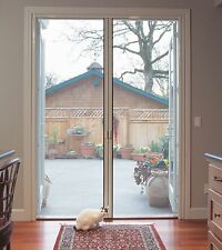 "Retractabl​e Screen Door - for Double Door fits up to 84"" tall (Custom Built)"