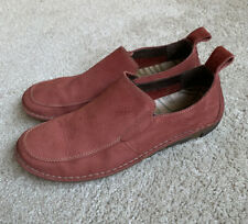 Men's Suede Slip On Size 9 Hush Puppie Loafers