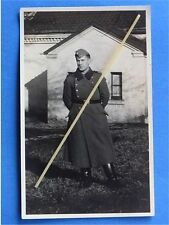 Foto Portrait Uniform Mantel Wehrmacht