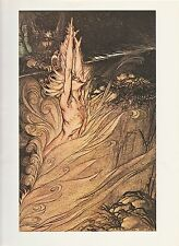 "1975 full Color Plate "" Wotan "" by Arthur Rackham"