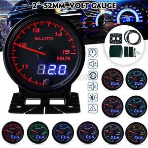 2'' 52mm Digital Pointer LED Digital Volt Meter Voltmeter Voltage Gauge 1