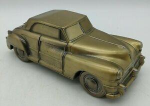 Vintage 1974 Banthrico 1946 CHRYSLER TOWN & COUNTRY CAR Bank Bronze Chicago RARE