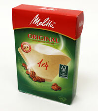 Genuine originale Melitta 1 x 4 Carta da Filtro MacChina Del Caffè Confezione da 80.MEL6563363