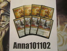 Guilds of Ravnica. Conclave Cavalier x4 and Centaur Peacemaker x4 Mtg