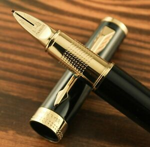 Parker Ingenuity 5th Technology Black & Gold Rollerball