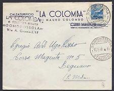 STORIA POSTALE REPUBBLICA 1948 Lettera da Domodossola a Legnano (C6)