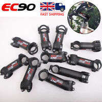 """1-1/8"""" 31.8mm 6/17° 60-120mm Aluminum Handlebar MTB Road Bike Bicycle Bar Stem"""