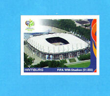 PANINI-GERMANY 2006-Figurina n.5- HAMBURG - FIFA WM STADION -NEW BLACK
