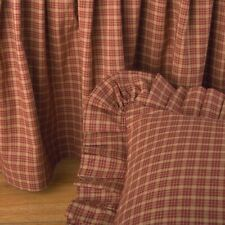 Donna Sharp Campfire Plaid Patchwork Bed Skirt