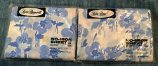 Full Size Sheet Set No Pillowcases ...Vintage Lady Pepperell...Blue Floral...NEW