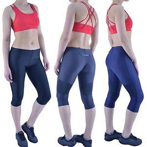 Leggings Active Wear Capri 3/4 Length Yoga Gym Fitness Running Exercise Sports