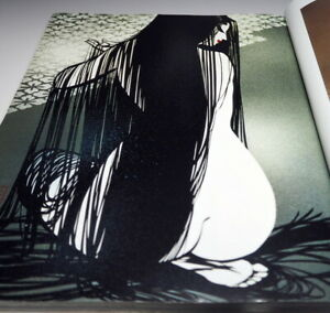 Masayuki Miyata Papercutting : Beautiful Japanese Woman book Japan Kiri-e #940
