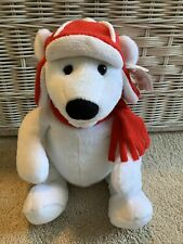 American Greetings White Polar Bear Stuffed Plush New With Tags Doesn'T Work