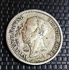 HOLLANDE 10 CENTS 1849 WILLHEM II