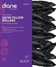 "Soft Curlers Soft Pillow Rollers Satin Soft 1"" Pillow Hair Rollers 10-pk"