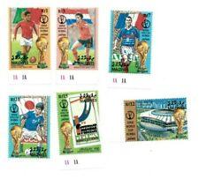 MODERN GEMS - Maldives - Soccer - Set Of 6 Stamps - MNH