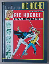TIBET  ***  LA COLLECTION RIC HOCHET TOME 10. LES 5 REVENANTS  ***