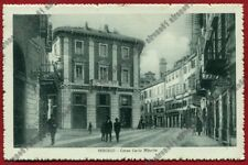 VERCELLI CITTÀ 188 SINDACATO - INFORTUNI - CARTOLERIA Cartolina VIAGGIATA 1913