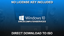 Windows 10 Pro/Home 32 64 bit Install Recovery Upgrade ISO Download NO KEY