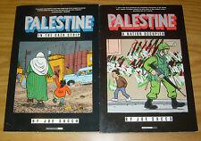 Palestine in the Gaza Strip TPB 1-2 FN/VF joe sacco - fantagraphics set lot
