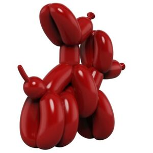 Dogs Balloon Humpek Statue Art Design Resin Animal Doggy Hugging Figure Decor