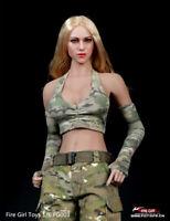 Fire Girl Toys 1/6 Female Costume Combat Girl Clothing FG003 F PH Figure Doll
