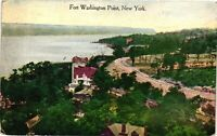 Vintage Postcard - 1910's Un-posted Fort Washington Point New York NY #3395