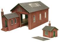 Metcalfe Goods Shed OO Gauge Card Kit PO232