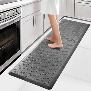 Kitchen Mat Cushioned Anti Fatigue Thick Non Slip Waterproof Kitchen Rugs ergono