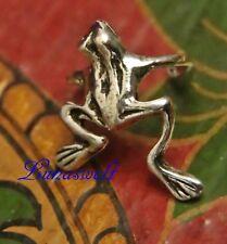 Frosch Ohrklemme 925 Silber