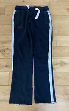 SUPERDRY VINTAGE SLIM JOGGER LADIES TRACK SUIT BOTTOMS SIZE XSMALL NAVY
